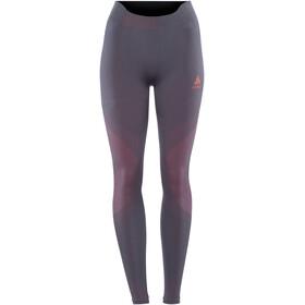 Odlo Suw Performance Warm Bottom Pants Women odyssey gray-diva pink